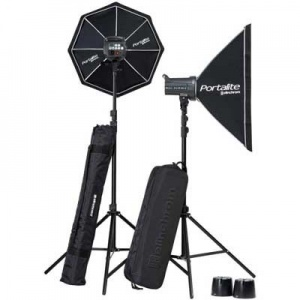 Elinchrom D-Lite RX 4/4 2-Head Softbox To Go Kit inc. Skyport Plus