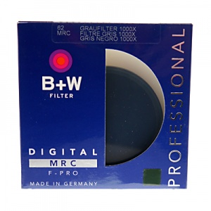 B+W 62mm 3.0ND 10-stop Multi-coated Filter