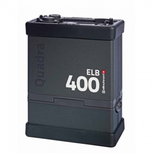 Elinchrom Quadra ELB 400 Power Pack, with Li-ion Battery & Charger