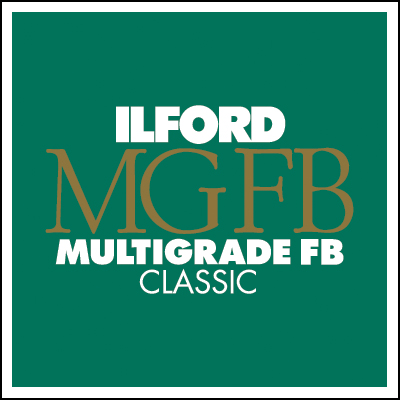 Ilford multigrade fibre base classic black white paper
