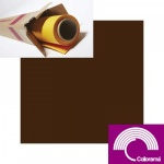 Colorama Peat Brown Background Paper