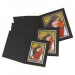 Kenro Black Upright Photo Folders