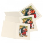 Kenro Ivory Upright Photo Folders