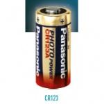 Panasonic Lithium CR123 Battery