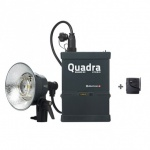 Elinchrom Quadra Living Light Set (400j) with Lead Gel Battery, Pro Head & Skyport