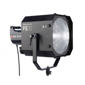 Elinchrom FS30 Fresnel Spot Lite, 20-60°, with ProTec Wheeled Case