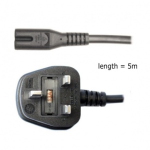 Elinchrom Mains Power Cable 5m (16.5ft), UK Plug, for D-Lite One (Spare)