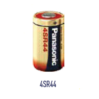 Panasonic Silver Oxide 4SR44 (PX28) Battery