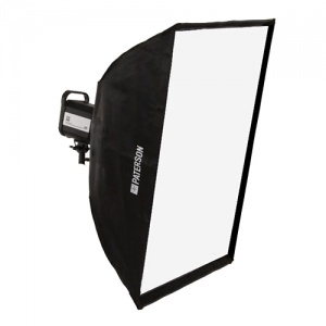 Paterson Fluorescent Studio Lighting Head & Softbox
