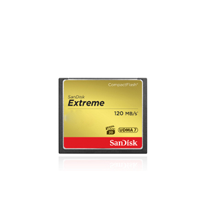 SanDisk Extreme Compact Flash Memory Card