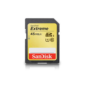 SanDisk Secure Digital Extreme SDHC/SDXC Memory Card