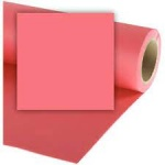 Colorama Coral Pink Background Paper