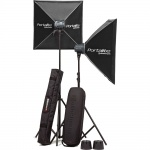 Elinchrom D-Lite RX One, 2-Head Kit, inc. Softboxes, Stands, Bags, Skyport Plus etc...